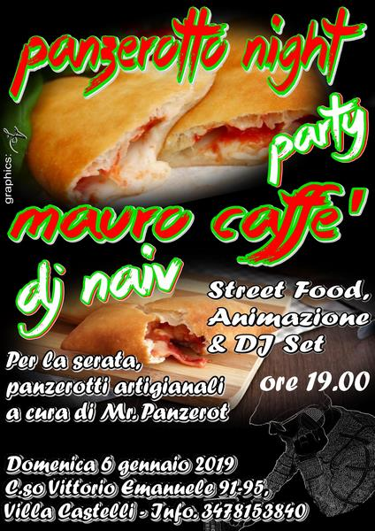 Panzerotto night Party   Locandina