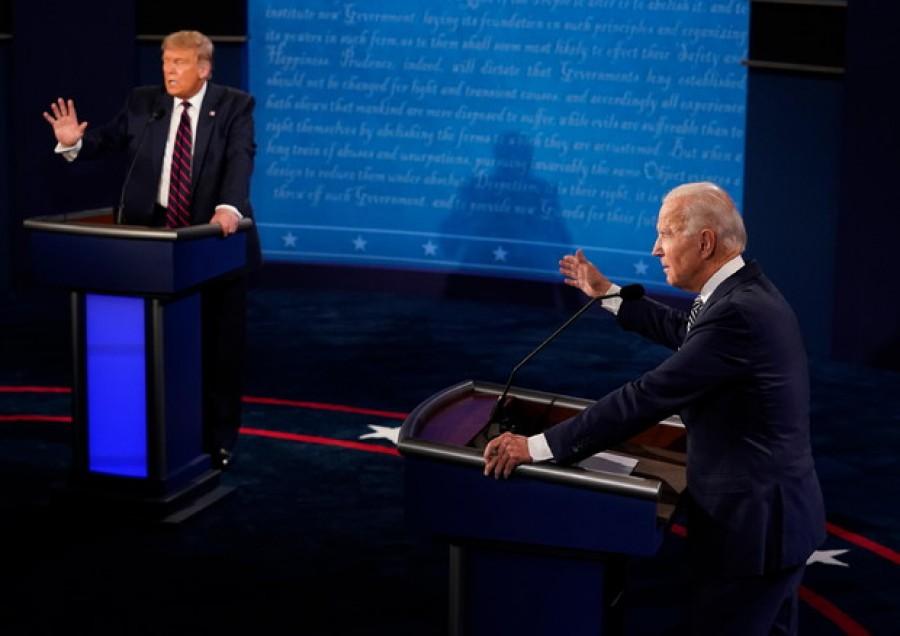 Borse deluse dal confronto Trump-Biden finito in rissa e insulti