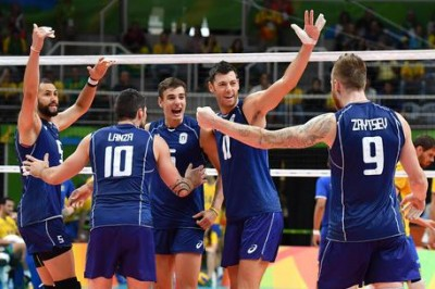 Olympics: Italy win volleyball silver