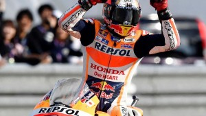 Marquez wins third MotoGP world title as Ogier celebrates fourth