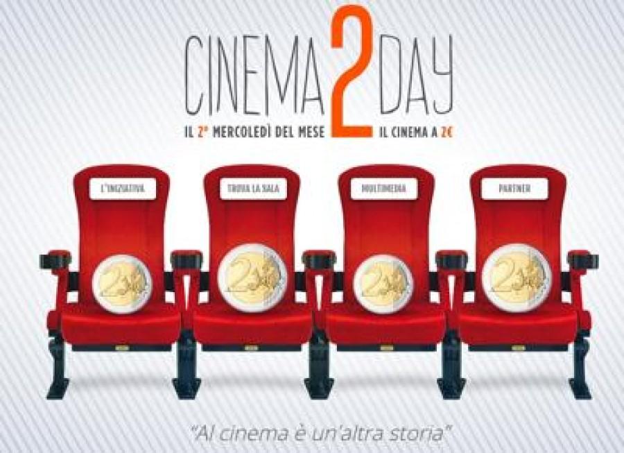 Mercoledì 9 due euro per un film