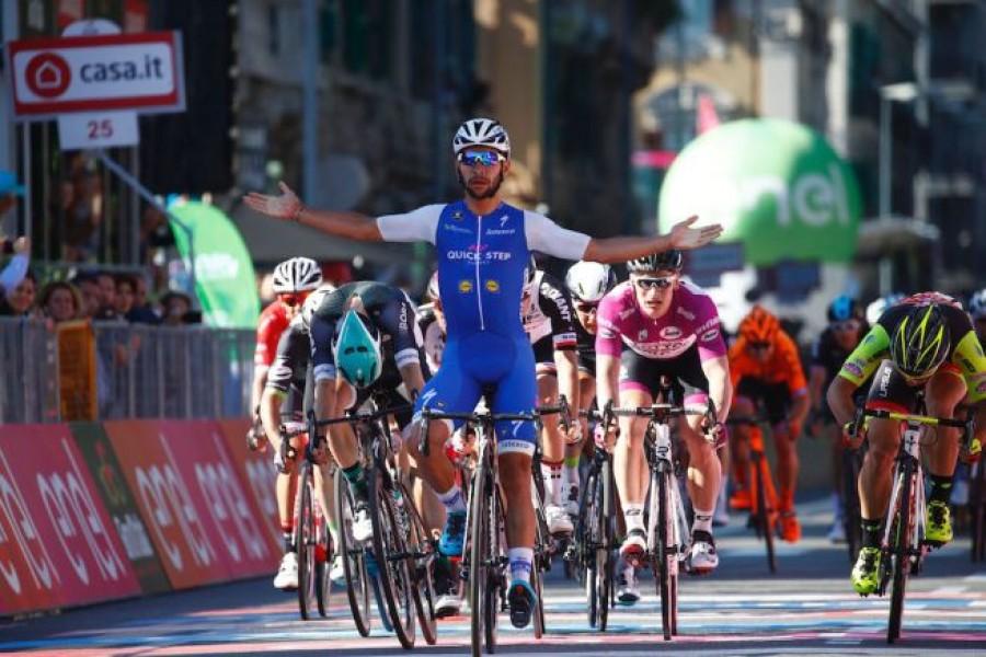 Giro d'Italia: Ewan vince la tappa di Alberobello