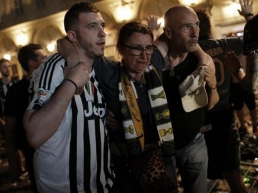 Champions League Juventus débâcle con Real Madrid delusione provoca 1400 feriti alcuni gravi