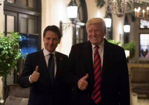 Conte a Washington, Italia 'facilitatore' rapporti Usa-Ue