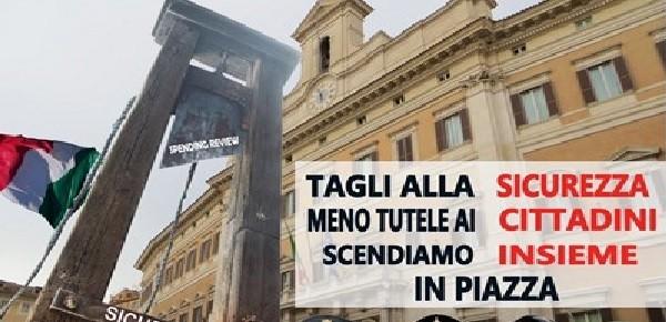 Il 12 ottobre la consulta della sicurezza scende in piazza for Piazza montecitorio 12