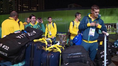 """Roos"" loos ready in Rio as team Australia returns to the Olympic Village"
