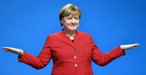 Merkel gets party backing to fight Germany's election
