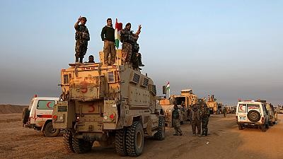 Iraqi Kurdish peshmerga forces continue their advances on outskirts of Mosul