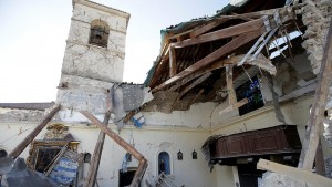 Serious damage from Italy earthquakes
