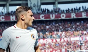 Roma legend Totti turns 40 Former Italy forward scored 250th Serie A goal on Sunday