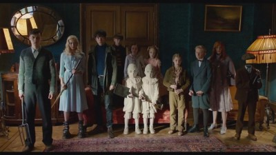 Tim Burton brings Miss Peregrine to life