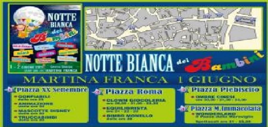 Calendario Eventi Martina Franca.Martina Franca La Notte Bianca Dei Bambini Causa Maltempo