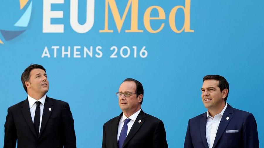 Ad Atene il vertice anti austerità dei Paesi del Mediterraneo