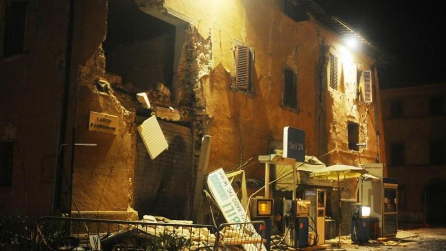 Terremoto Visso (Macerata): centro storico completamente inagibile