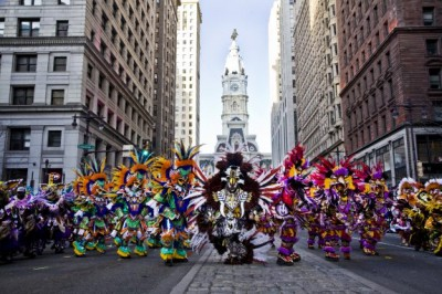 Philadelphia holds its traditional 'Mummers parade'