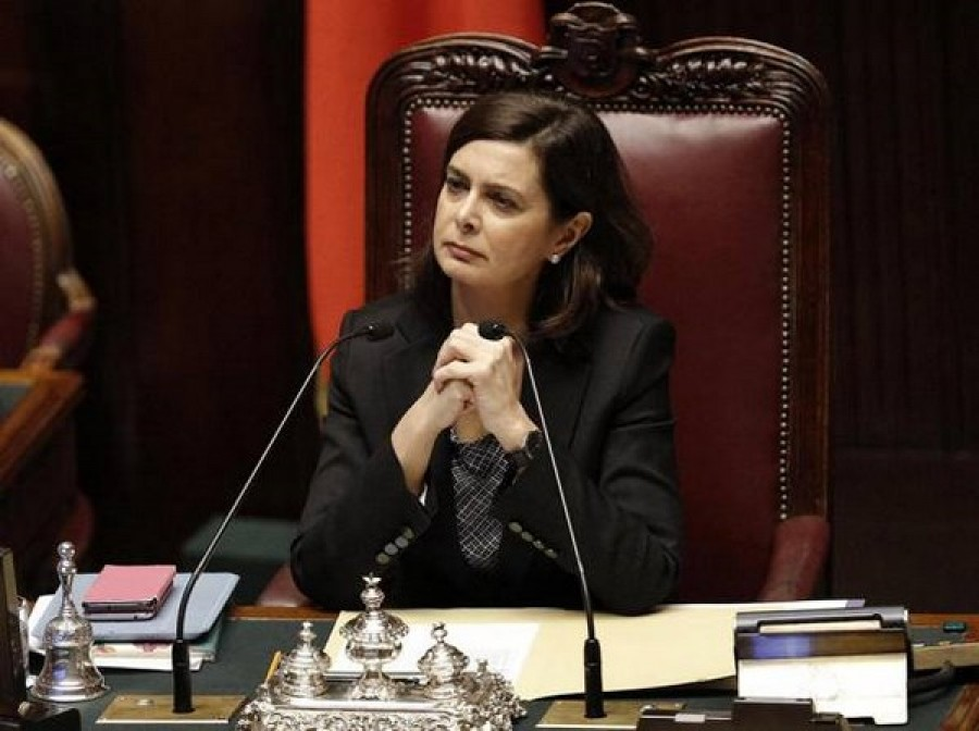 Cara presidente della camera laura boldrini for Presidente della camera attuale