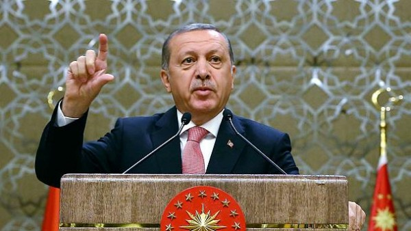 Erdogan: West 'supports terror'