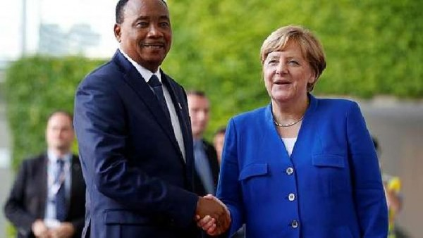 Merkel urges more investment, weapons for Africa