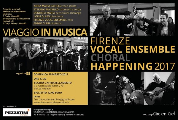 Firenze Vocal Ensemble - Choral Happening 2017
