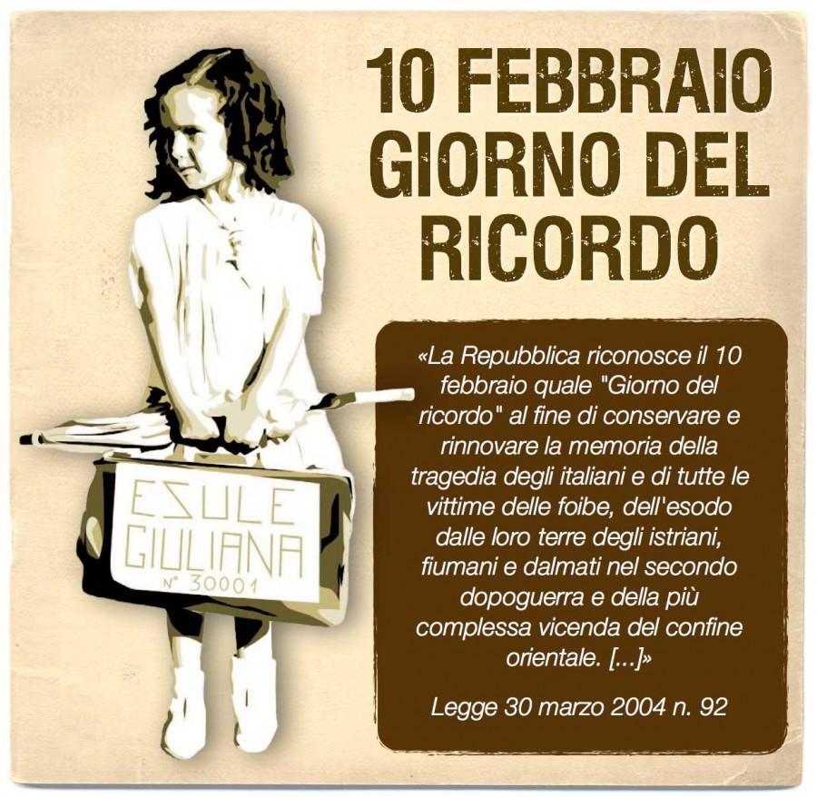 Giorno del Ricordo, a Chieti intitolazione 'Largo Martiri delle Foibe'