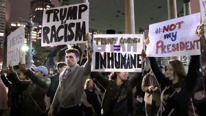 Anti-Trump protest becomes a 'riot' in Portland, Oregon