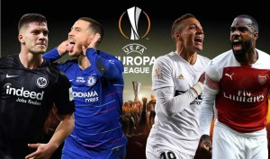 Arsenal y Chelsea a semifinales Europa League