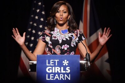 Outrage over Facebook post describing Michelle Obama as an 'ape in heels'