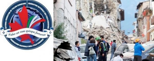 Terremoto - Dal Canada gli italo-canadesi si prodigano in raccolta fondi per solidarietà