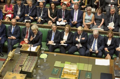Brexit bill backed by British parliament.
