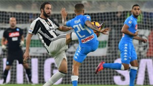 Juventus forward Higuain strikes winner against former club Napoli