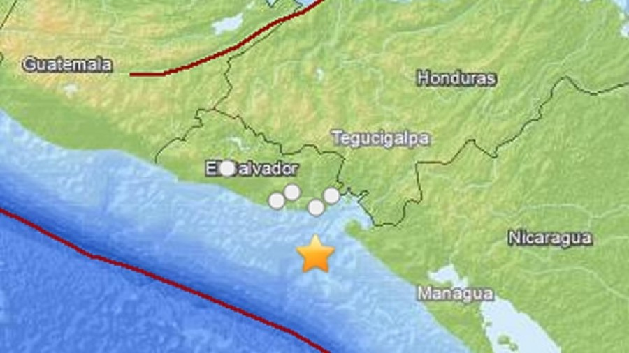 Magnitude 7.0 earthquake shakes Central America