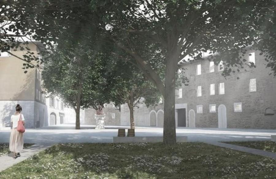 Bergamo presentazione progetto di riqualificazione di for Galleria carrara bergamo