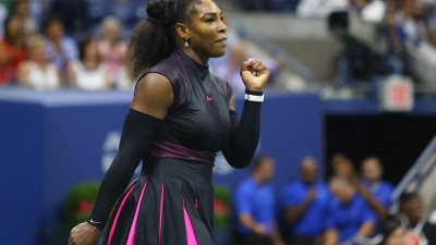 Love game: Serena Williams plays on after engagement