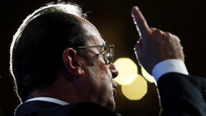 Hollande: strong words on democracy in the face of terrorism
