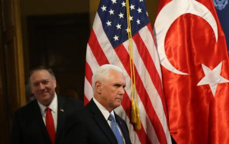 US Vice President Mike Pence and US Secretary of State Mike Pompeo visits Turkey