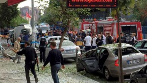 Motorbike bomb explodes near Istanbul police station - official