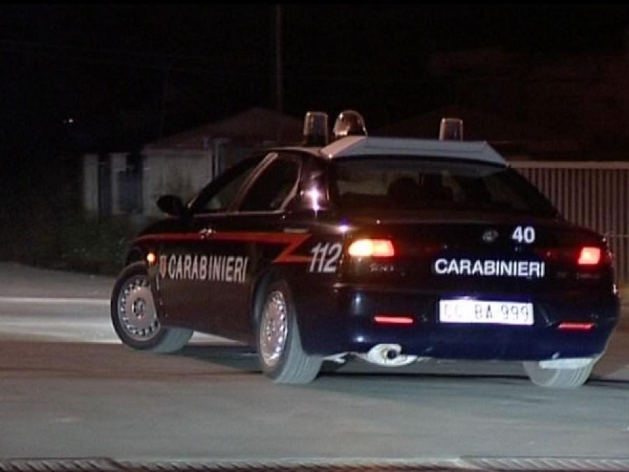 Tentano il furto alla tabaccheria, ladri messi in fuga dai carabinieri