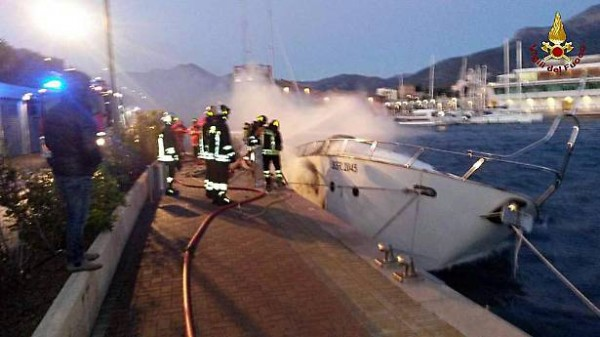 Three dead as yacht catches fire in Italy
