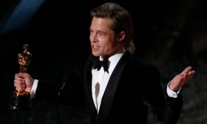 "Brad Pitt gana con ""Once Upon a Time…"" su primer Óscar como actor"