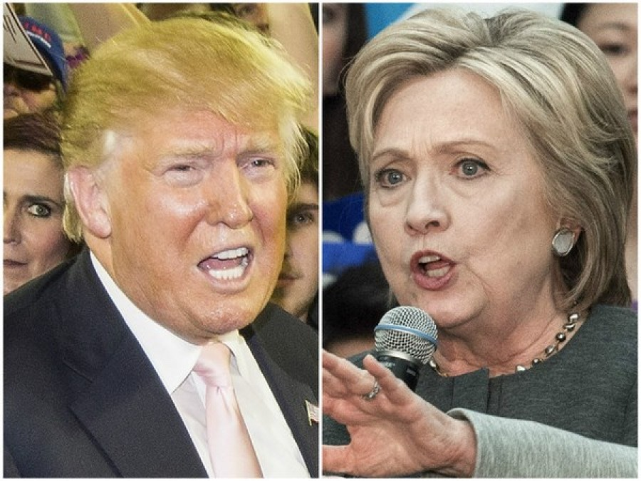 I cento minuti del dibattito Hillary Clinton e Donald Trump