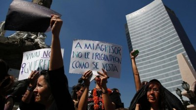 Latin America rallies to condemn violence against women