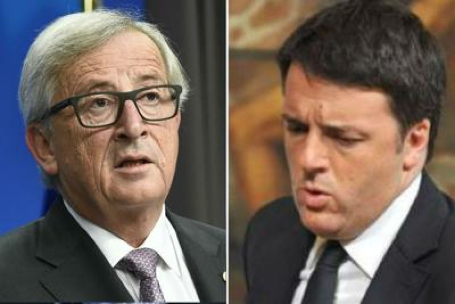 Juncker dice che l'Italia sbaglia ad attaccare la Ue