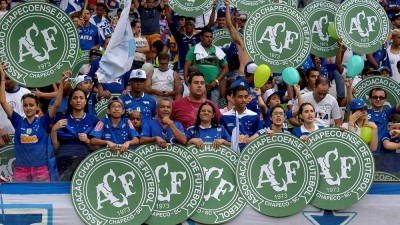 Brazil football season ends with tribute to Chapecoense