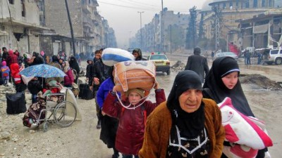 Syria's battle for Aleppo over, the evacuation begins in earnest