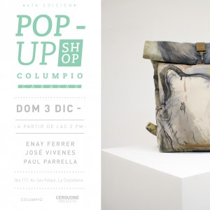 POP-UP Columpio llega a Cerquone Projects  con piezas intervenidas por Vivenes, Ferrer y Parella