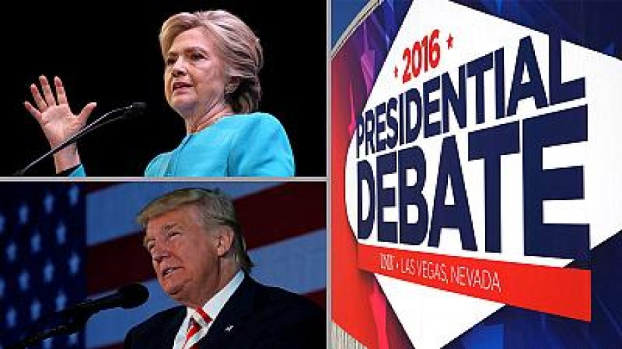 US presidential debate: what are the odds in the country's betting capital?