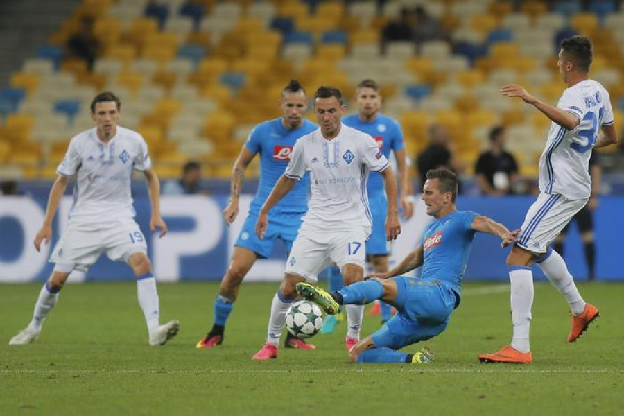 Il Napoli vince in Ucraina, Sarri: