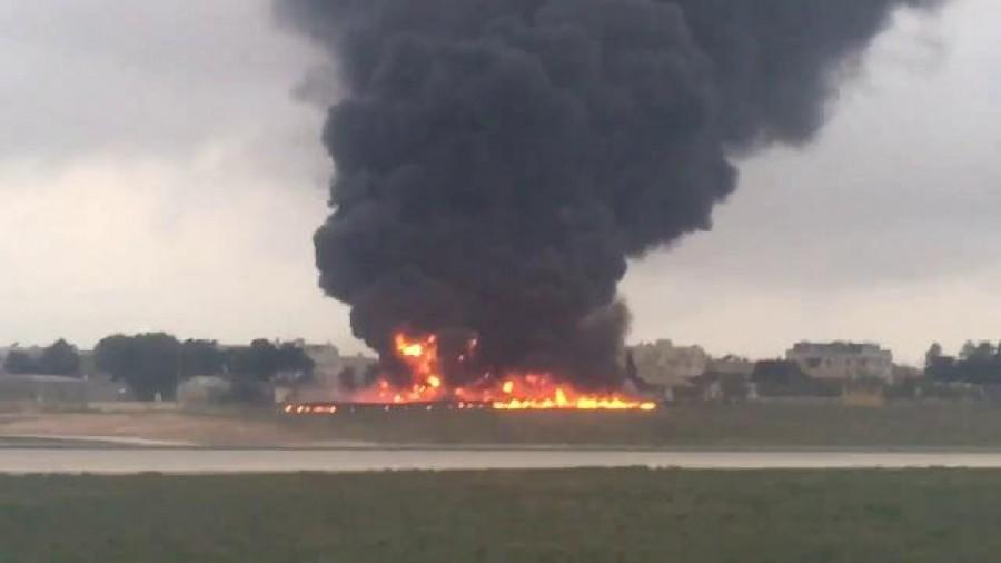 Cade un Jet a Malta con 5 francesi. Tutti morti