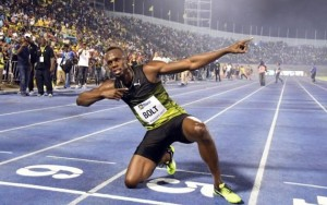 Usain bolt bids a fast farewell to fans in Jamaica