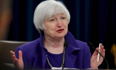 Federal Reserve head Janet Yellen hints at US interest rate hike in December